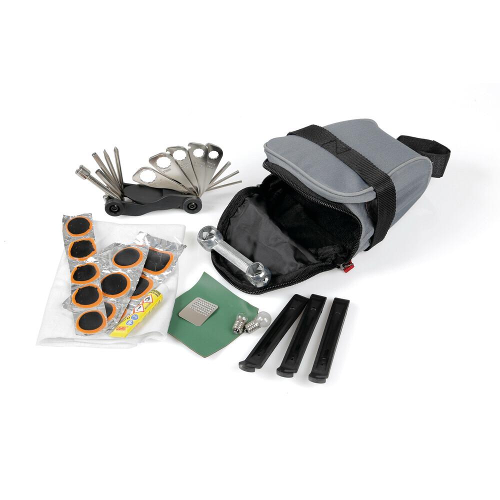 Trusa scule pentru reparatie bicicleta in geanta pentru sa 36buc Lampa