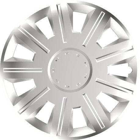 Capace roti auto Victory 4buc - Argintiu - 14' - Resigilat