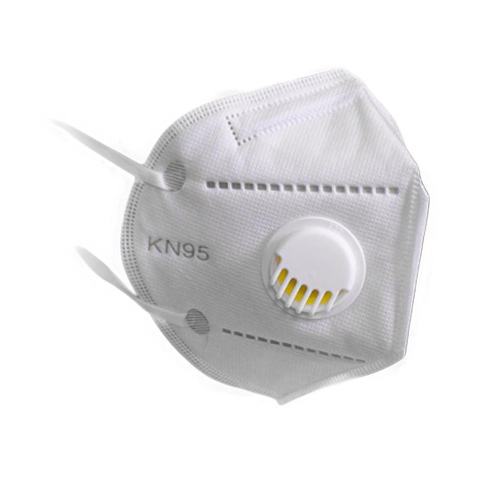 Mască de protecție KN95 = FFP2 cu 5 straturi și valvă