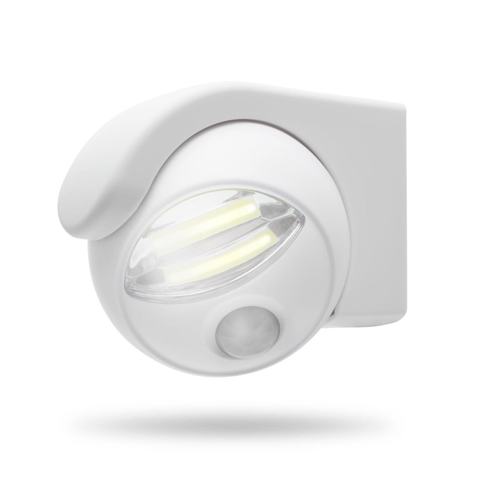 Reflector cu COB-LED , şi senzor de mişcare şi lumină