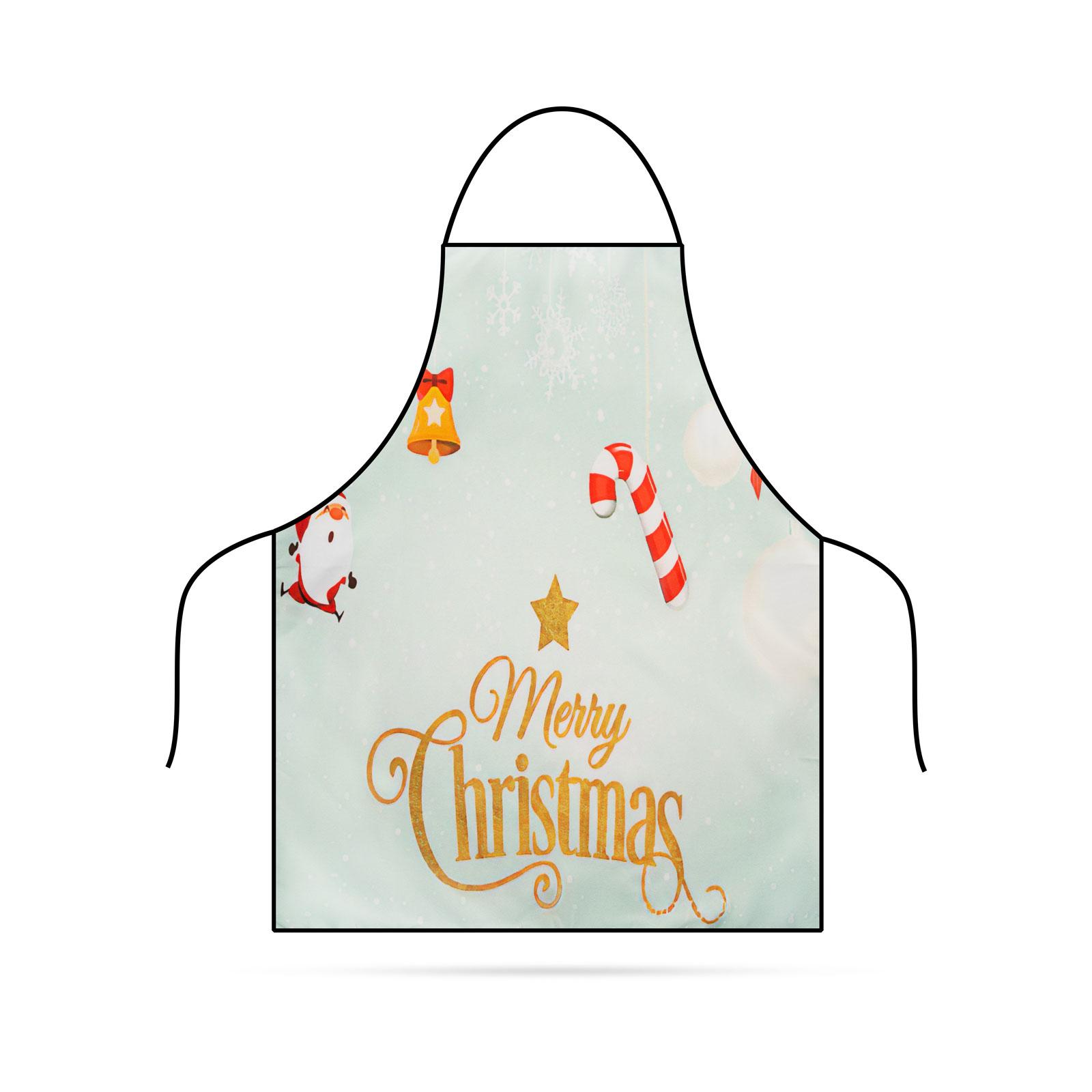 Șorț de Bucătărie - Crăciun - 71 x 57 cm