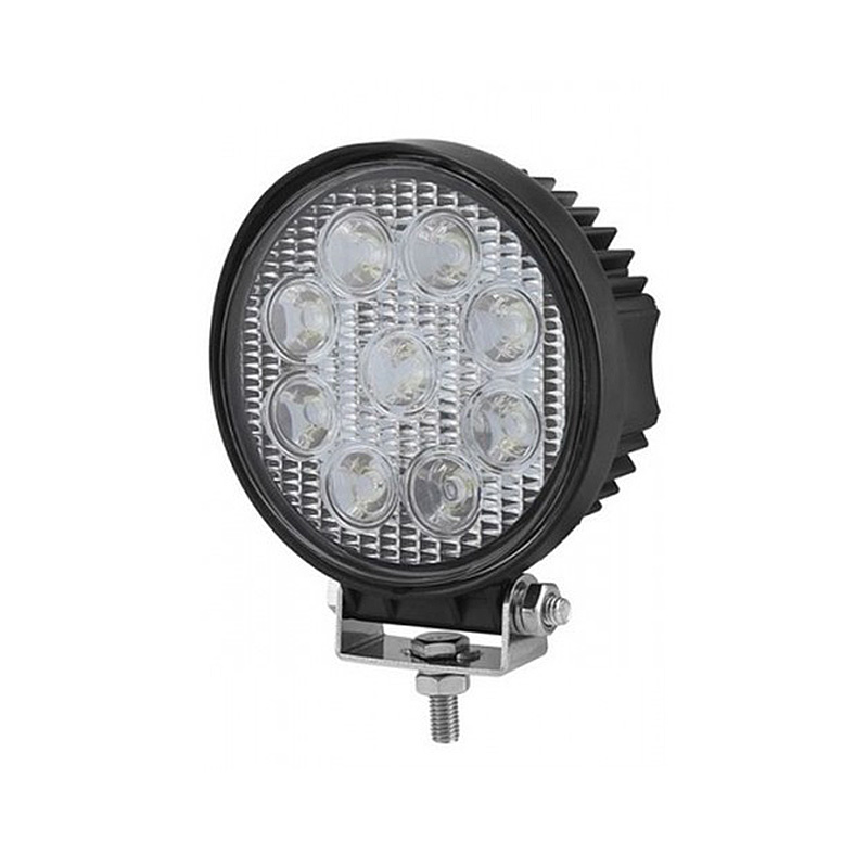 Proiector cu LED din metal rotund 27W 10/30V Kamar