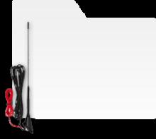 Antene auto radio FM