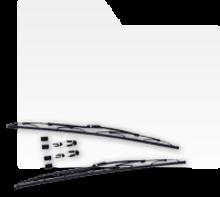 Stergatoare parbriz set 2 bucati