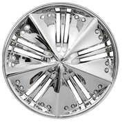 Wheel covers Best 1 4pcs - Chrome - 13''