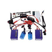 Kit Xenon H.I.D. Hot Style H4 bec dublu 12V - 10000K