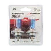 Bec halogen Blu-Xe  H4 60/55W P43t 12V 2buc 4Cars