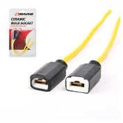 4Cars Ceramic bulb socket for H3 2pcs
