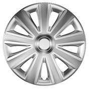 Capace roti auto Aviator Carbon 4buc - Argintiu - 15''