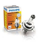 Bec Philips H4 60/55W P43t 12V Vision +30% 1buc