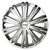 Capace roti auto Giga 4buc - Argintiu - 15''