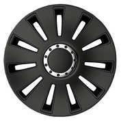 Capace roti auto Silverstone Pro Black 4buc - Negru - 15''