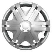 Capace roti auto Vision 4buc - Argintiu - 13''