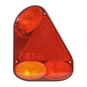 Lampa stop spate 6functii 174x218mm Carpoint - Stanga