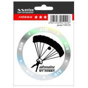 Autocolant Hobby Air Parachutist 1buc