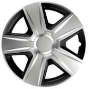 Capace roti auto Esprit BC 4buc - Argintiu/Negru - 14''