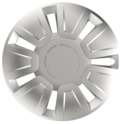 Wheel covers Focus 4pcs - Silver - 14''