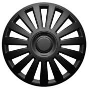 Capace roti auto Luxury BL 4buc - Negru - 14''