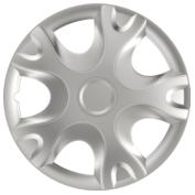 Capace roti auto Real 4buc - Argintiu - 15''