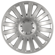 Wheel covers Smart 4pcs - Silver - 15''