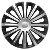 Capace roti auto Trend SB 4buc - Argintiu/Negru - 16''
