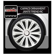 Capace roti auto Trend RC 4buc - Argintiu - 15''