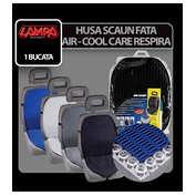 Husa scaun fata respiranta Air-Cool 1buc - Negru
