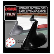 Imitatie antena GPS Satellite Navigator - Argintiu