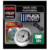 Neon-Disk plafoniera 12V - Lumina UV