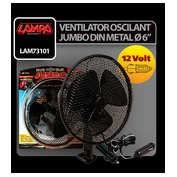 "Ventilator oscilant Jumbo Ø6"" din metal 12V"