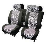Huse scaun Zebra 9buc