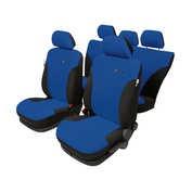 Huse scaun Dynamik Super AirBag L 9buc - Negru/Albastru