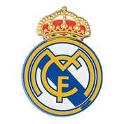Autocolant emblema Real Madrid 40x55mm