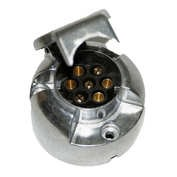 Priza remorca aluminiu 7 poli Kamar 12V - Vrac