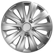 Capace roti auto Rapide NC 4buc - Argintiu - 15''