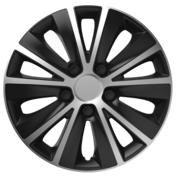 Capace roti auto Rapide SB 4buc - Argintiu/Negru - 15''