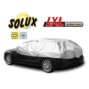 Prelata auto protectie soare si inghet Solux - LXL - Hatchback/Kombi