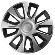 Capace roti auto Stratos SB 4buc - Argintiu/Negru - 15''